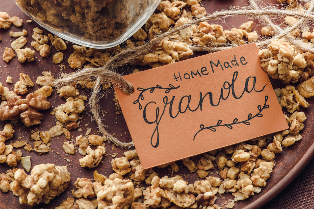 Whole Grain, Gluten-Free Granola Recipe