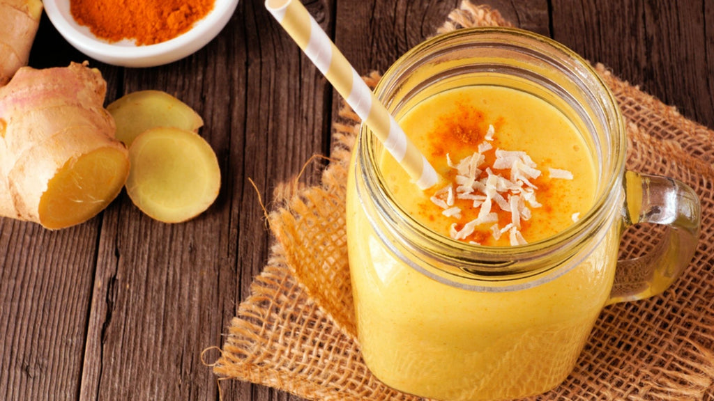 Pick-Me-Up Golden Smoothie