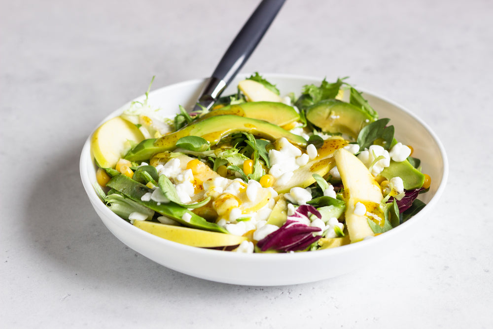 Delicious Mung Bean & Avo Salad