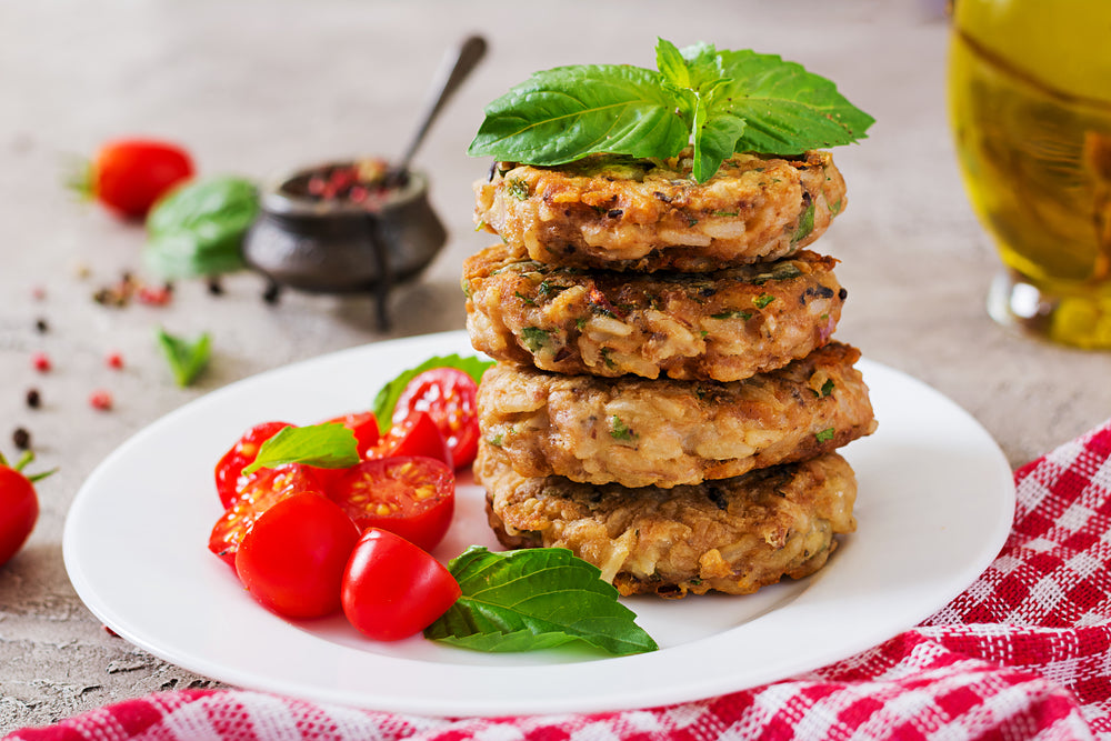 High Protein Mung Bean, Lentil, Quinoa Burger Patty Recipe With Egg