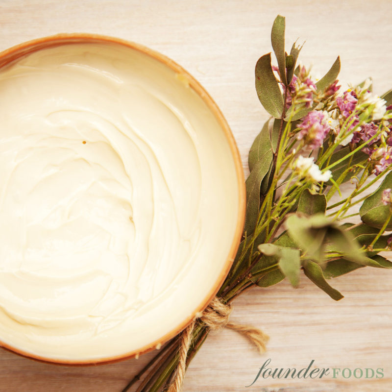 Homemade Natural Whipped Body Butter