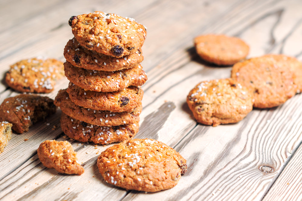 Delicious Oatmeal Raisin Biscuits As Healthy Snacks