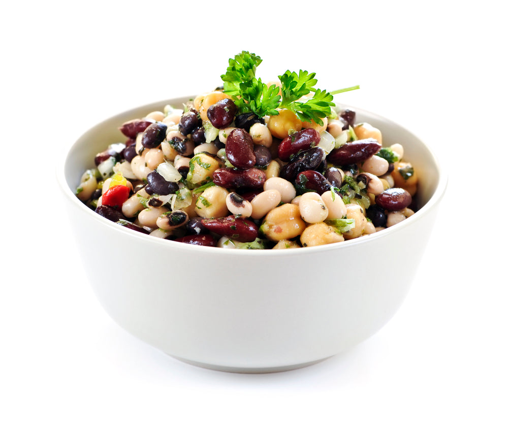 Power-House Bean Salad With Raisins And Grains