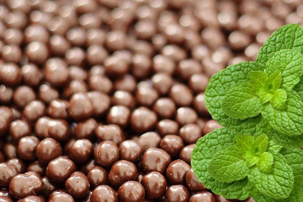 Mint Infused Dark Chocolate Chickpeas