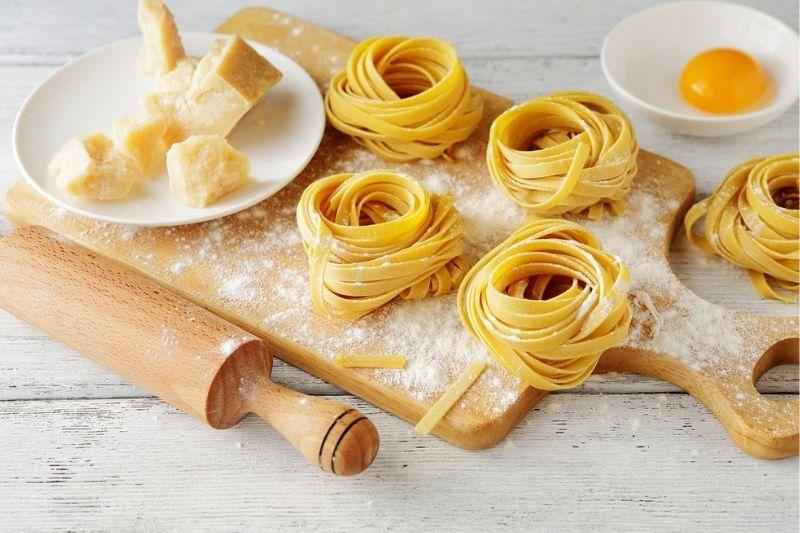 Hand-Rolled Egg Tagliatelle