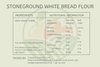 Stone Ground White Bread Flour