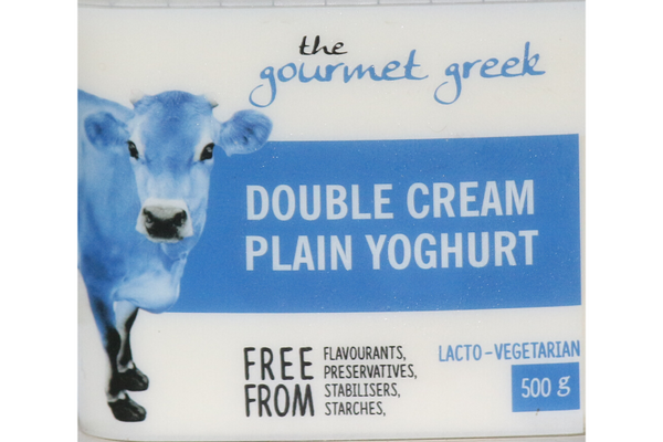 Double Cream Plain Yoghurt - 500g