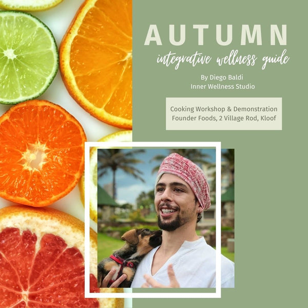 Event Ticket: Autumn Wellness Guide With Diego Baldi