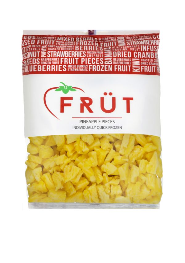 Frozen Pineapple Pieces 1kg