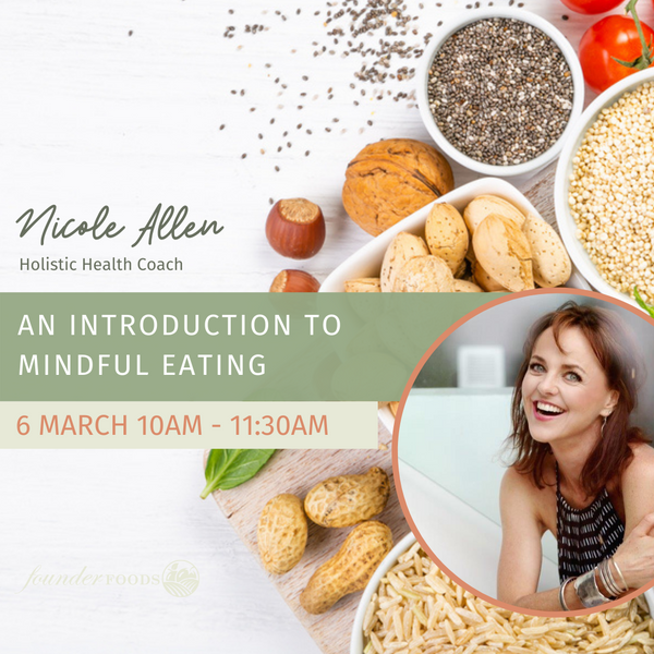 Event Ticket: An Introduction To Mindful Eating