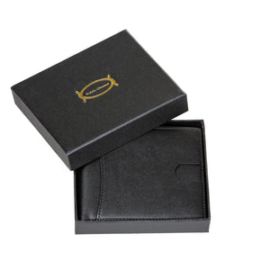 Public Cheese Men's Bifold Wallet Delivered in Luxury Gift Box Great Gift Idea for birthdays anniversaries groomsmen Valentine's Day Father's Day teachers Graduation Christmas and other speical occasions