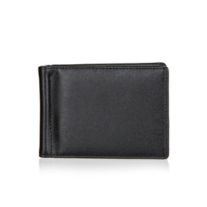 Public Cheese Slim Minimalist Front Pocket RFID Signal Blocking Men's and Women's Wallet with Money Clip