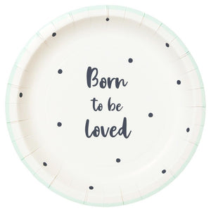 Platos Born to be loved - 12uds