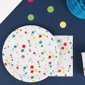 Servilletas lunch Confetti - 16uds