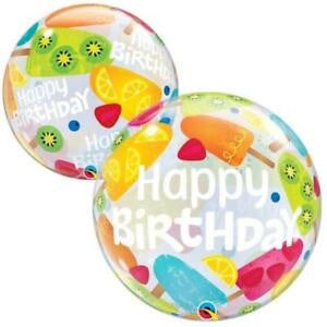 Globo Bubble Happy Birthday