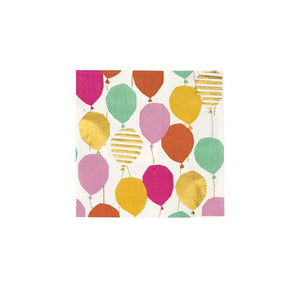 Servilletas cocktail Globos - 16uds