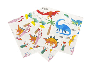 Servilletas lunch Dinos - 20uds
