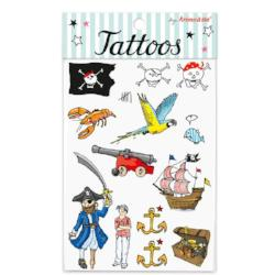 Tattoos Piratas - 12uds