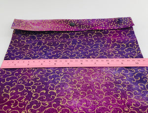 Gift bag - purple and gold