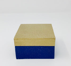 Gift Box -  Blue and Gold