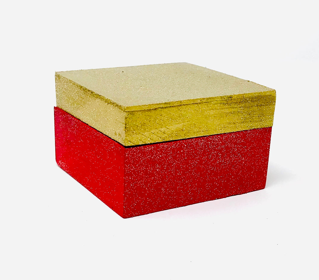 Gift Box - Red and Gold