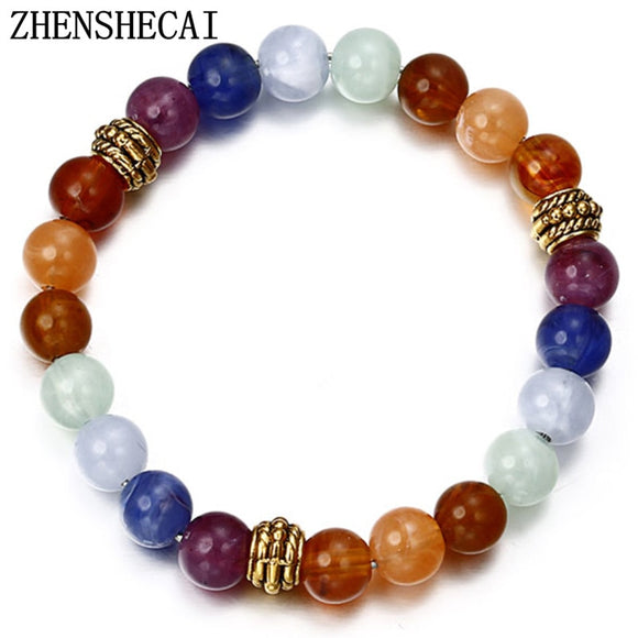 2018 Newest Bracelet Men colorful Balance Beads charm geometric simple Bracelet For Women fashion jewelry wholesale ns3
