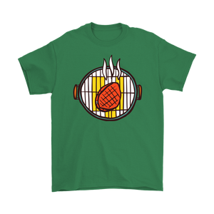 Offline Grill Grilling Star T-shirt