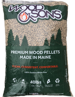 Bag of Wood and Sons Premium Softwood Pellets