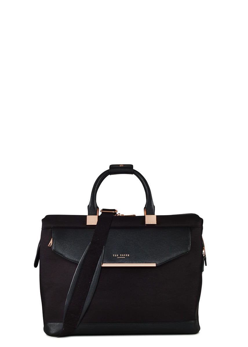 c361e0aee02331 Ted Baker Albany Small Clipper Holdall Black - London Luggage ...