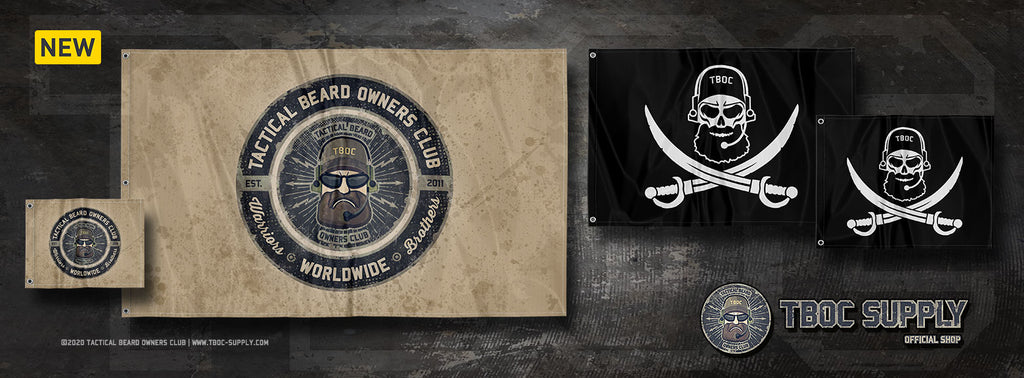 TBOC Flags Back In Stock!