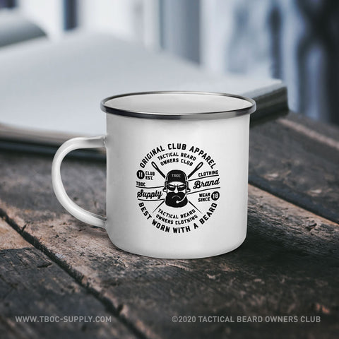 TBOC Coffee Mug Enamel TBOC Supply Brand Label