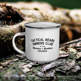TBOC Coffee Mug Enamel Vintage Club
