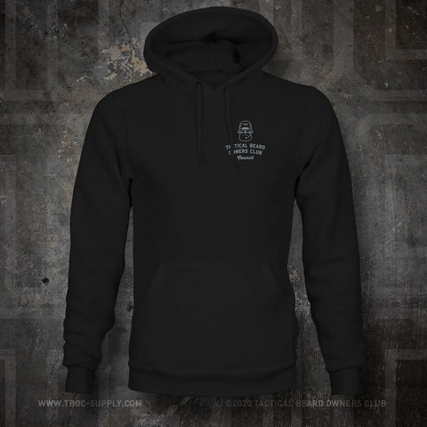 "TBOC Embroidered Hooded Sweatshirt ""Council"" – Black - TBOC Supply"