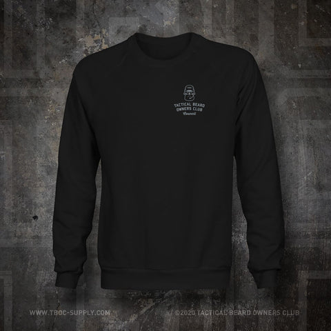 "TBOC Embroidered Sweatshirt ""Council"" – Black - TBOC Supply"