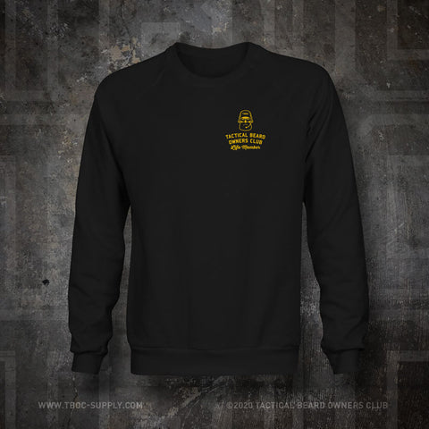 "TBOC Embroidered Sweatshirt ""Life Member"" – Black - TBOC Supply"