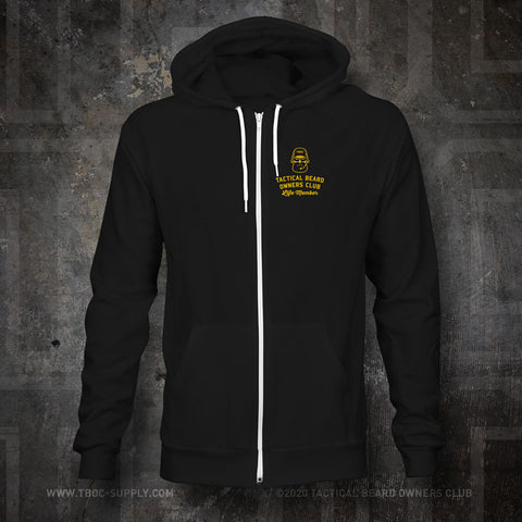 "TBOC Embroidered Premium Hoodie ""Life Member"" – Black - TBOC Supply"