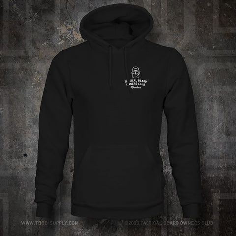 "TBOC Embroidered Hooded Sweatshirt ""Member"" – Black - TBOC Supply"