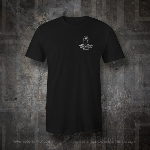"TBOC Embroidered T-Shirt ""Member"" – Black - TBOC Supply"