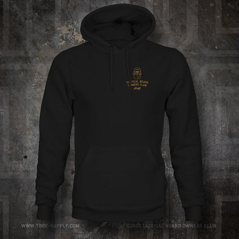 "TBOC Embroidered Hooded Sweatshirt ""Staff"" – Black - TBOC Supply"