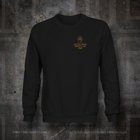 "TBOC Embroidered Sweatshirt ""Staff"" – Black - TBOC Supply"
