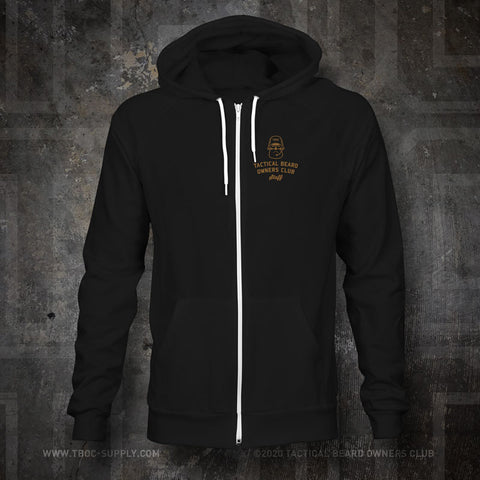 "TBOC Embroidered Premium Hoodie ""Staff"" – Black - TBOC Supply"
