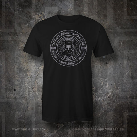 TBOC T-Shirt Logo Slate – Black - TBOC Supply
