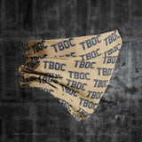 TBOC Neck Gaiter Logo Letters Pattern – Different Colors