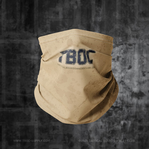 TBOC Neck Gaiter Logo Letters – Different Colors