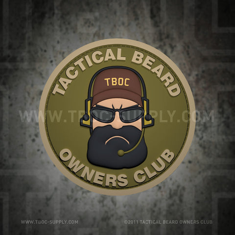 TBOC Legacy Logo Patch Full Color – Different Colors