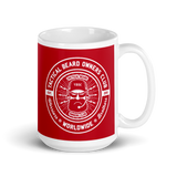 TBOC Coffee Mug Big Keep Calm And BTFO – White/Red - TBOC Supply