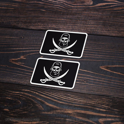 TBOC Premium Sticker – Bearded SEAL Small 2x - TBOC Supply