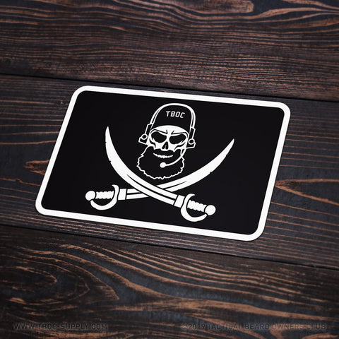 TBOC Premium Sticker – Bearded SEAL Large - TBOC Supply