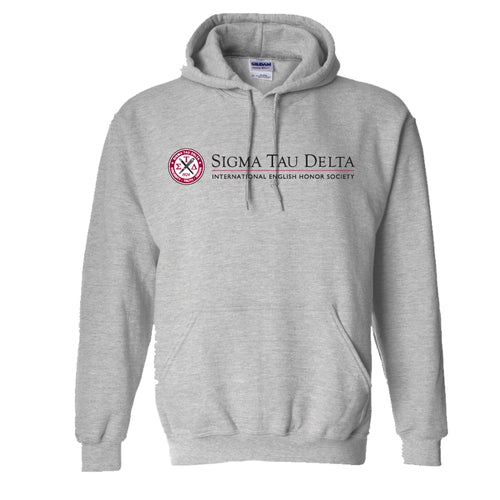 Heather Grey Hooded Sweatshirt