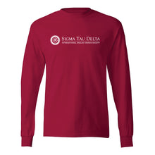 Load image into Gallery viewer, Red Long Sleeve Logo Shirt
